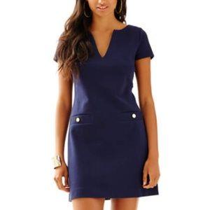 Lilly Pulitzer Navy Layton Shift Dress